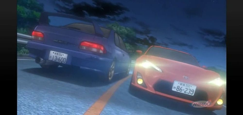initial d fifth stage mcanime
